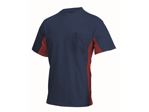 Afbeelding van Tricorp t-shirt 102002 nvy/rood 2XL
