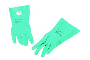 Afbeelding van Ansell handschoen nitril gevlokt  9