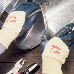 Afbeelding van Ansell handschoen nitril +manchet10