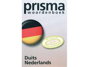 Afbeelding van Prisma woordenboek pocket duits-nederlands, 9789049100674