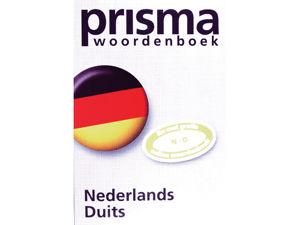 Afbeelding van Prisma woordenboek pocket nederlands-duits, 9789049100650