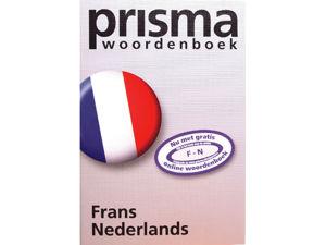 Afbeelding van Prisma woordenboek pocket frans-nederlands, 9789049100735