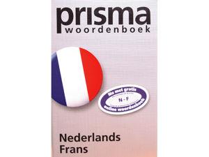 Afbeelding van Prisma woordenboek pocket nederlands-frans, 9789049100759
