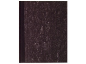 Afbeelding van Office register breedkwarto 96blad zwart contra gelinieerd, 31210