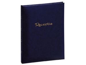 Afbeelding van Office receptiealbum 205x260 blauw geplakt 48blz wit, 270071