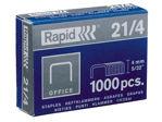 Afbeelding van Rapid nieten 21/4 gegalvaniseerd strong 5000stuks, 24867400