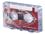 Afbeelding van Philips cassette dicteer lfh0005 2x15min met clip, lfh 0005