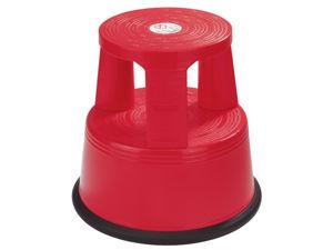 Afbeelding van Desq opstapkruk roll-a-step 42cm kunststof rood, 360060