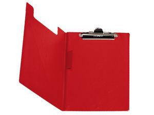 Afbeelding van Bantex klemmap, 100551518, elba metalen klem, rood