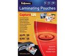 Afbeelding van Fellowes lamineerhoes, 65 x 95 mm, 125 micron, verpakking 100 vel, 5306702, glanzend