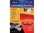 Afbeelding van Fellowes lamineerhoes, a4, 125 micron, verpakking 100 vel, 5396301