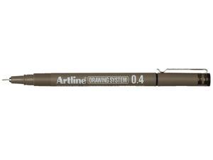 Afbeelding van Artline fineliner, 0.4 mm, 655203, zwart