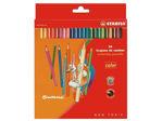 Afbeelding van Stabilo kleurpotlood color 979, verpakking 24 stuks, 1224/77-01, assortiment
