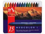 Afbeelding van Caran d'ache waskrijt neocolor i, verpakking 15 stuks, 7000315, assortiment