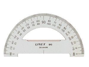 Afbeelding van Linex gradenboog, diameter 100 mm, 180 graden, 100413011