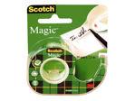 Afbeelding van 3M scotch plakband, 19 mm, 7.5 meter, 81975d, met tapehouder magic