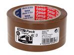 Afbeelding van Tesa verpakkingstape, 50 mm, 66 meter, 57168-00000-05, pp, low bruin