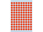 Afbeelding van Herma etiket rond, 8 mm, verpakking 540 stuks, 1842, rood