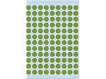 Afbeelding van Herma etiket rond, 8 mm, verpakking 540 stuks, 1845, groen