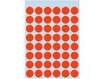 Afbeelding van Herma etiket rond, 12 mm, verpakking 240 stuks, 1862, rood