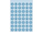 Afbeelding van Herma etiket rond, 12 mm, verpakking 240 stuks, 1863, blauw