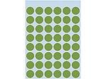 Afbeelding van Herma etiket rond, 12 mm, verpakking 240 stuks, 1865, groen