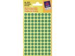 Afbeelding van Zweckform etiket, 8 mm, verpakking 416 stuks, 3012, groen
