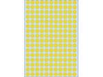 Afbeelding van Herma etiket rond, 8 mm, verpakking 5632 stuks, 2211, geel