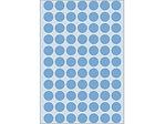 Afbeelding van Herma etiket rond, 13 mm, verpakking 2464 stuks, 2233, blauw