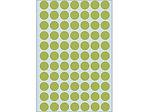 Afbeelding van Herma etiket rond, 13 mm, verpakking 2464 stuks, 2235, groen