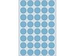 Afbeelding van Herma etiket rond, 19 mm, verpakking 1280 stuks, 2253, blauw