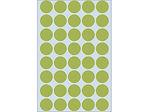 Afbeelding van Herma etiket rond, 19 mm, verpakking 1280 stuks, 2255, groen