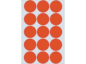 Afbeelding van Herma etiket rond, 32 mm, verpakking 480 stuks, 2272, rood