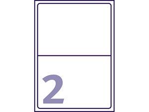 Afbeelding van Avery etiket, 199.6 x 143.5 mm, verpakking 50 stuks, j8168-25