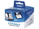 Afbeelding van Dymo label etiket, 54 x 70 mm, verpakking 320 stuks, s0722440, wit