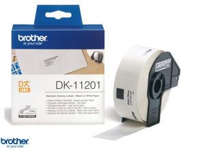 Afbeelding van Brother label adres, 29 x 90 mm, dk-11201, wit