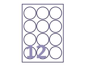 Afbeelding van Avery etiket, 63.5 mm, verpakking 300 stuks, rond, l7630-25