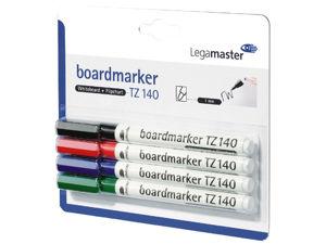 Afbeelding van Legamaster whiteboard viltstift, 1 mm, tz140, rond, assorti, 7-114094-4