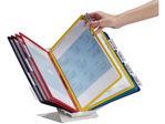 Afbeelding van Durable bureaustandaard vario, a4, verpakking 10 tassen, assorti, 557900, polypropyleen