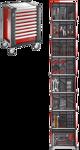 Afbeelding van Facom gereedschapswagen 9 laden   m3