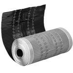 Afbeelding van Ubbink hoekkeperrol, 300 mm, 5 meter, zwart, aluminium
