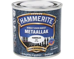Afbeelding van Hammerite hamerslag, 250 ml, wit
