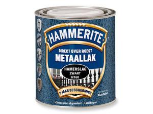 Afbeelding van Hammerite hamerslag, 750 ml, zwart
