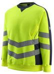 Afbeelding van Mascot sweatshirt wigton fluor geel/marine