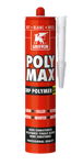 Afbeelding van Griffon Montagelijm Poly Max® Pro Power Wit Koker 425 g