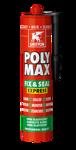 Afbeelding van Griffon Montagelijm Poly Max® Fix & Seal Express Zwart Koker 425 g