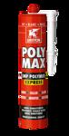 Afbeelding van Griffon Montagelijm Poly Max® Pro Power Express Wit Koker 435 g