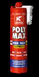 Afbeelding van Griffon Montagelijm Poly Max® High Tack Express Wit Koker 435 g