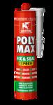 Afbeelding van Griffon Montagelijm Poly Max® Fix & Seal Express Trijs Koker 300 g