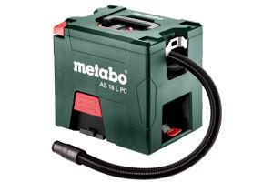 Afbeelding van Metabo accu-stofzuiger as 18 l